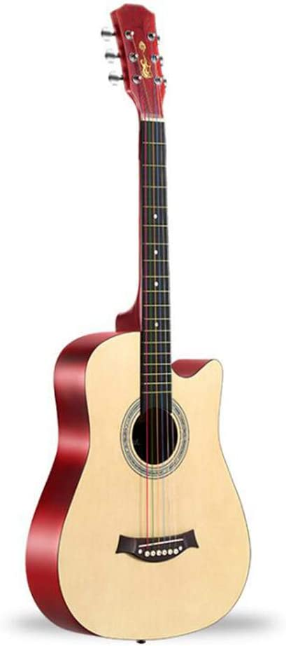 CXD Total de 6 Cuerdas eléctrico acústico Guitalele, 38 Pulgadas Starter Kit de Bolsillo 3 selecciones de Libros de Texto afinador de Guitarra Soprano Caoba Pequeño Hawaiano con Accesorios,2