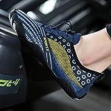 Zapatos De Agua De Verano para Hombres Mujeres Ligeras Aguas Arriba Calzado Aqua Seco Rápido Zapatillas De Deporte De La Playa Hombres Senderismo Zapatos De Vaina(Size:36)