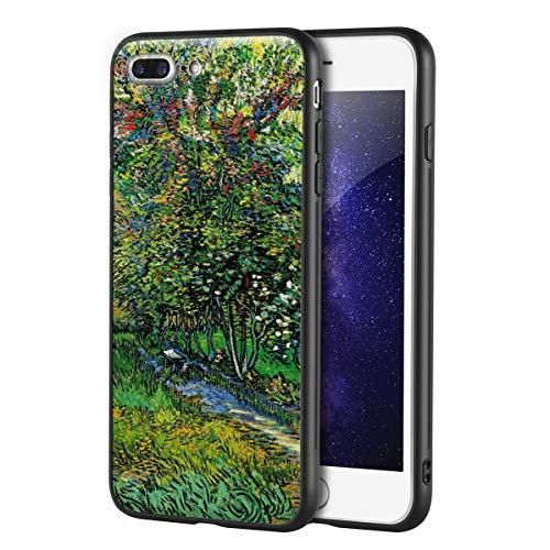 Berkin Arts Vincent Van Gogh Custodia per iPhone 7 Plus&iPhone 8 Plus/Custodia per Cellulare Art/Stampa giclée UV sulla Cover del Telefono(Los O El burlado of Los Asylum At Saint Remy)