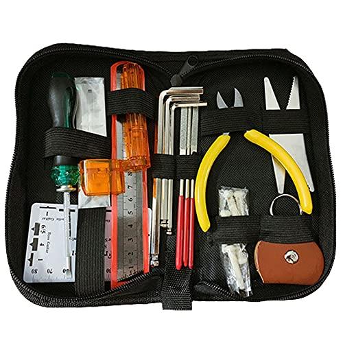 Medeer 26PCS Guitar Repair Tool Kit  Wire Plier,String Organizer,Fingerboard...