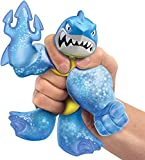 YXiang Hero Super Elastic Animal Doll Rubber Man Decompression Toy A New Super Slimy Stretchable Hero with New fillings and New Weapon Fists (Shark)