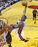 Dwayne Wade Miami Heat slam dunk 8x10 11x14 16x20 photo...