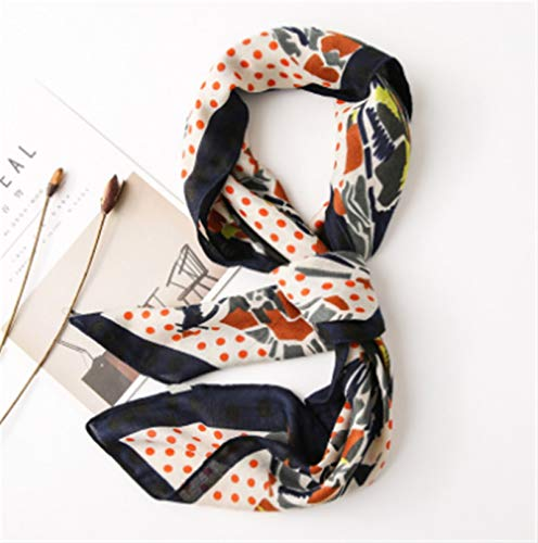(98 * 98cm)Ladies Scarves Clothing Accessory Women Scarf Shawl Square Satin Silk Feeling Hair Fashion Scarves Bag Decoration Gifts For Women