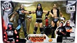 WWE Wrestling NWO Federation Poison Action Figure 3-Pack Scott Hall , X-Pac & Kevin Nash