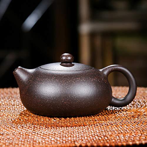 Thee Set Epot Paars Klei Xishi Pot Handgemaakte Unieke Vorm Pot Waterkoker Thuis Balgat Dahongpao Oolong Thee Set 150ml
