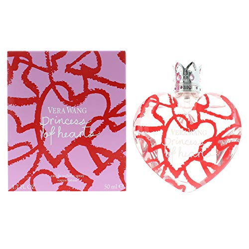 Vera Wang Princess Of Hearts 50ml/1.7oz Eau De Toilette Spray Women EDT Perfume