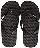 Cressi Beach Flip Flops, Ciabatte Infradito per Spiaggia e Piscina Unisex, Nero, 41/42