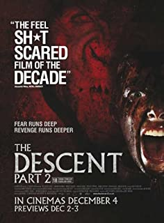 The Descent: Part 2 Movie Poster (27 x 40 Inches - 69cm x 102cm) (2009) UK -(Shauna Macdonald)(Natalie Jackson Mendoza)(Krysten Cummings)(Gavan O'Herlihy)