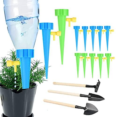 13 verpakkingen zelfbesproeiende spikes, plantwateringsapparaten, vakantieplant waterdruppelaar, plantenwaterer met…