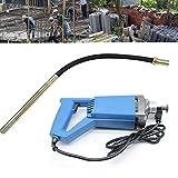 Yunrux - Vibrador eléctrico de hormigón (1,2 m, 800 W, con una sola mano)