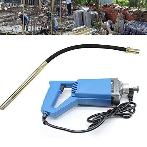 Yunrux - Vibrador eléctrico de hormigón (1,2 m, 800 W, con una...
