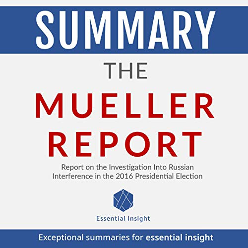 Couverture de Summary: The Mueller Report