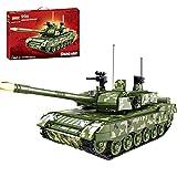 Tewerfitisme Modelo de tanque de la serie militar, tanque militar, tanque de combate de la Segunda Guerra Mundial, pieza de construcción compatible con Lego 945 piezas