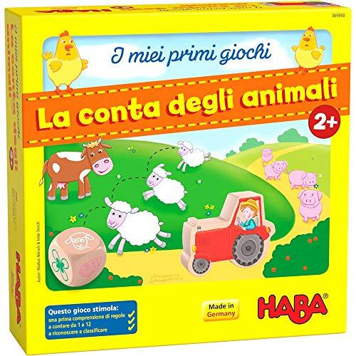 HI I Miei Erste Spiele: Die Tierzähler, Brettspiel in Italienisch