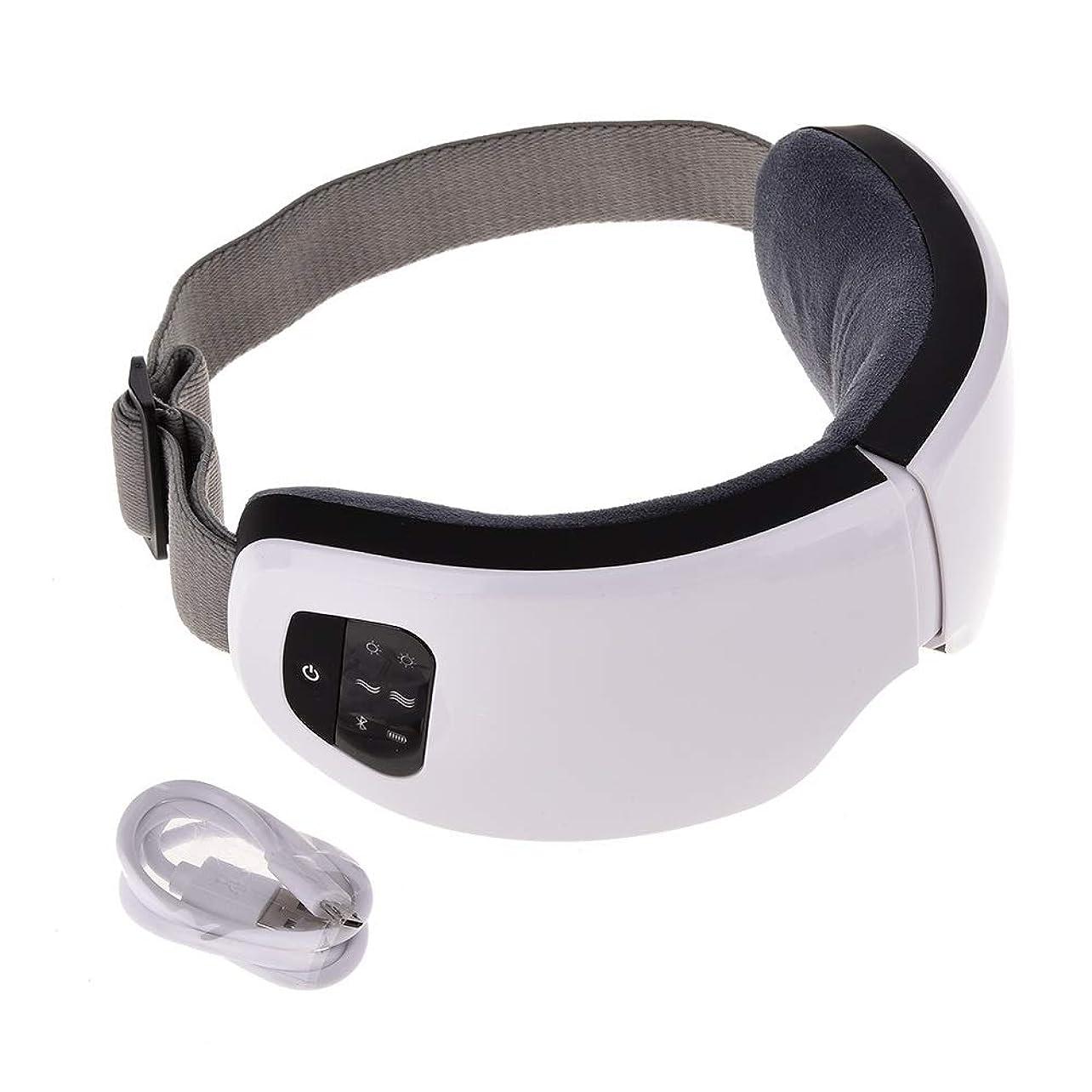 好奇心盛フォーカスライバルMeet now ファッションアイマッサージャー、電気マッサージ器具、高度な音楽振動アイプロテクター 品質保証