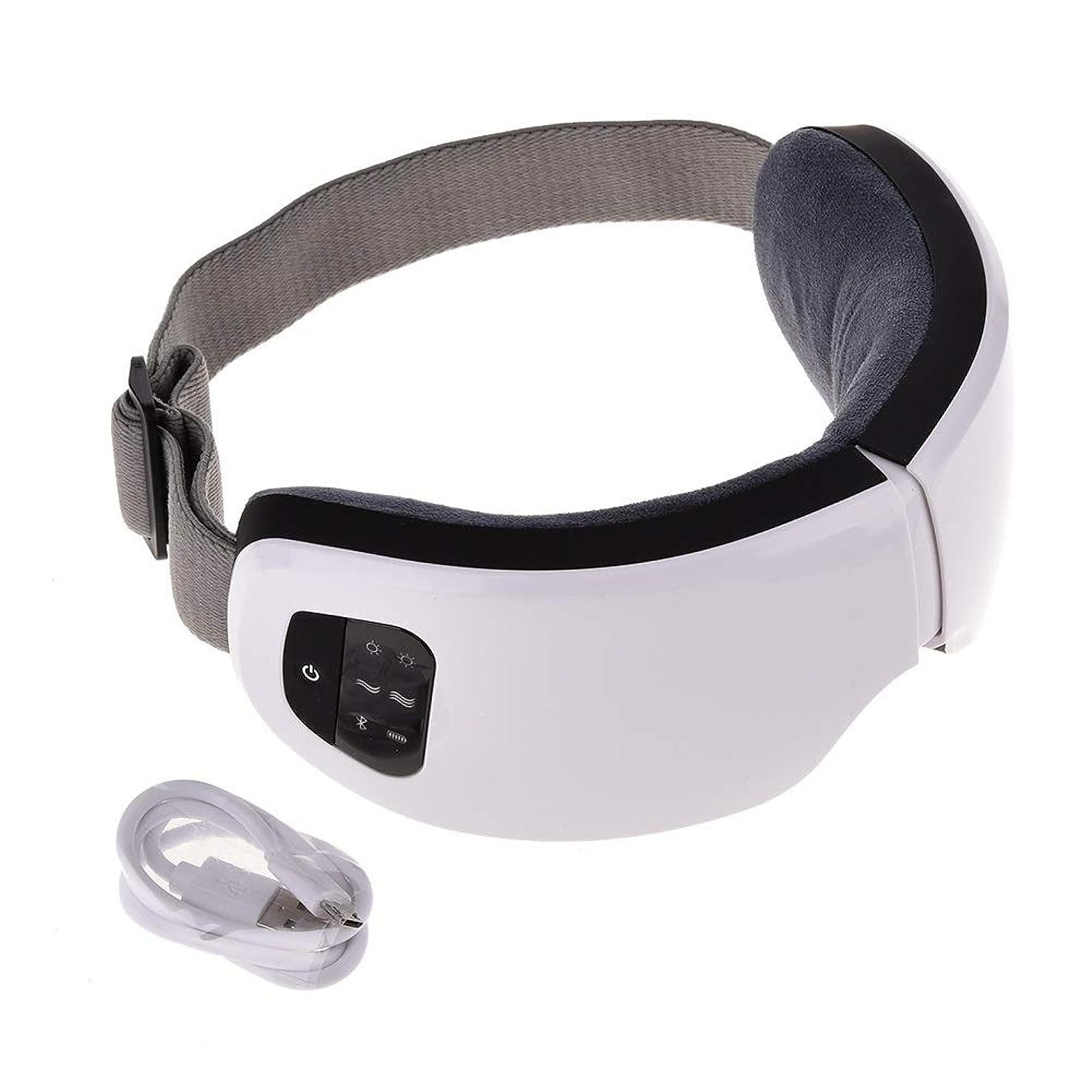 によって盟主誰でもMeet now ファッションアイマッサージャー、電気マッサージ器具、高度な音楽振動アイプロテクター 品質保証