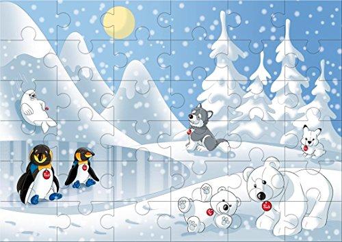 Trudi - 31004 - Puzzle - Pôle - 36 Pièces