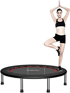 Trampolines, Foldable Portable High flexibility Fitness Rebounder for Aerobic exercise lose weight family games, black GHH...