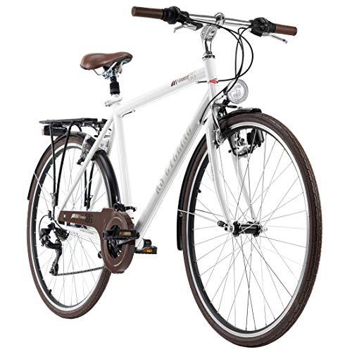 KS Cycling Trekkingrad Herren 28'' Venice Flachlenker weiß RH 53 cm