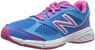 New Balance KJ514 Youth Lace Up Running Shoe Blue/Pink 11 W US Little Kid [並行輸入品]