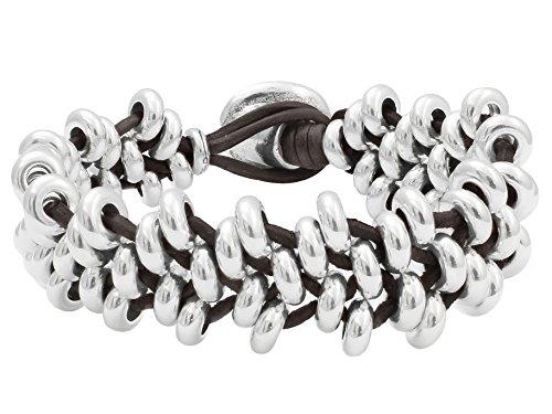Beau Soleil Jewelry Schmuck Armband Lederarmband Damen Herren Ibiza Schmuck aus Leder