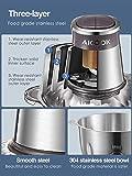 Zoom IMG-2 tritatutto da cucina elettrico aicook