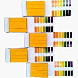 Jimitop pH Test Strips,5 Packs of 400 Strips pH 1-14 Test Paper,for Urine,Saliva,Drinking Water,Pool,Spa,Soap,Fish Tank and Liquids …