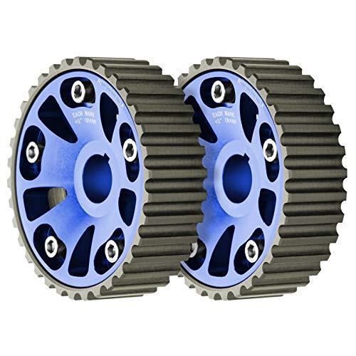 JDMBESTBOY Blue Twin Cam Gear for Honda Acura B-Series B16 B18 Dohc Engine Adjustable Integra Civic CRX