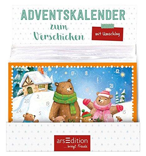 Adventskalender zum Verschicken Kindermotive Jatkowska