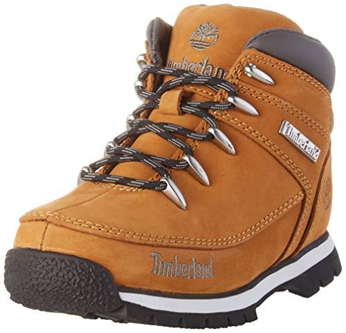 Timberland Kids Euro Sprint Hiker Chukka Boots, Braun (Wheat Nubuck), 30 EU