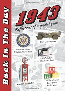 1943 Back In The Day - 24-page Greeting Card / Booklet with Envelope