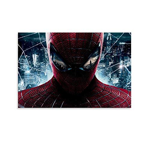 DRAGON VINES Movie The Amazing Spider-Man Peter Parker - Marco de pintura en lienzo (40 x 60 cm)