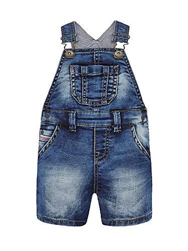Mayoral 20-01688-005 - Latzhose Denim für Baby - Jungen 9 Monate (74cm) Jeans