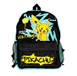 Pokemon Backpack for Boys and Girls | Kids School Bags | Pokemon Rucksack | Back to School | Pokemon Accessories | Pikachu Large Backpack | Pokemon Toys and Gifts | Back Pack for School