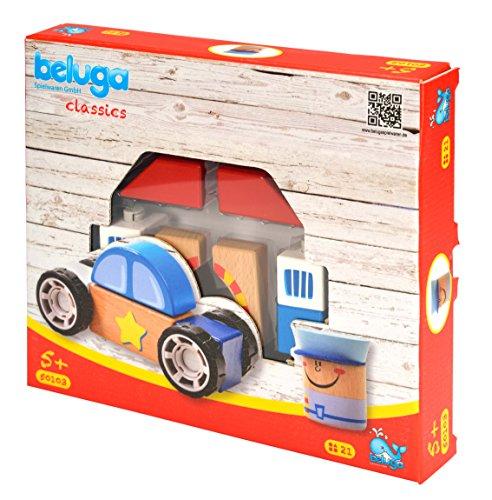 Beluga Jouets 50103 Police Station 19 pièces