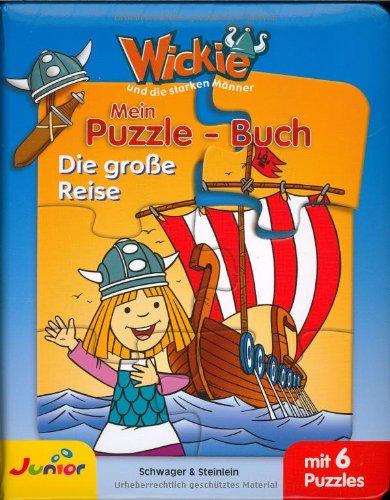 Wickie - Puzzlebuch, Die grosse Reise