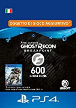 Ghost Recon Breakpoint - 600 Ghost Coins 600 Coins | Codice download per PS4 - Account italiano
