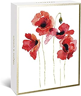 floral blank cards