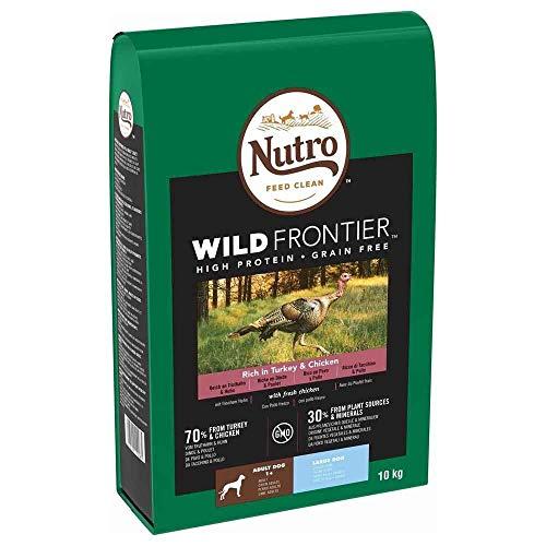Nutro Wild Frontier Adulto Pollo y Pavo 10KG Razas Grandes