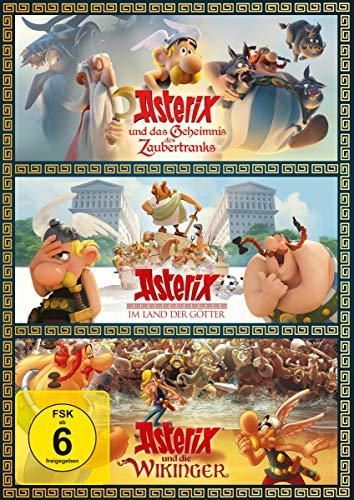 Asterix und die Wikinger / im Land der Götter / und das Geheimnis des Zaubertranks [3 DVDs]