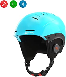 smart4u Smart Ski Helmet SS1 with Bluetooth Ski & Snowboard Helmet,IPX4 Waterproof,Walkie-Talkie,Listen to Music