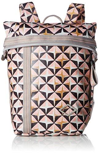 Oilily Damen Lori Geometrical Backpack Mvf Rucksackhandtasche, Pink (Rose), 13x26x22 cm