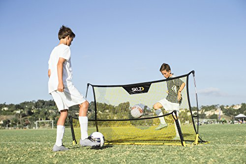 SKLZ Quickster Soccer Trainer Portable Soccer Rebounder Net for Volley, Passing, and Solo Training