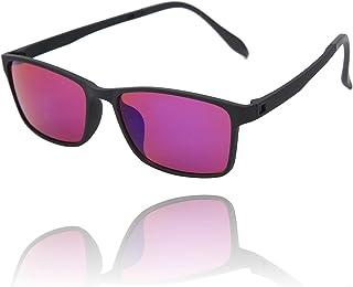 Kleurenblinde bril voor rood-groene blindheid, bril voor verbetering van het gezichtsvermogen, kleurenblinde corrigerende ...