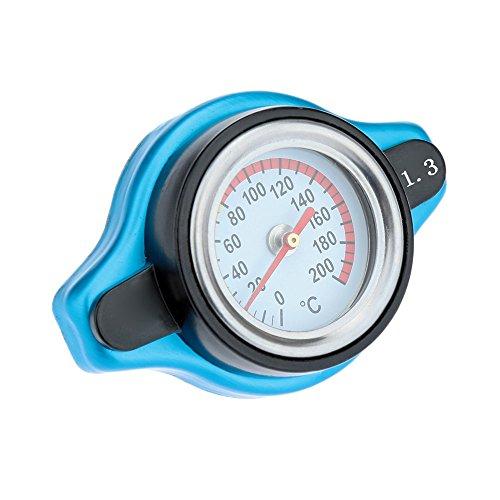 KKmoon Universelle Thermo Thermostatischen Radiator Cap Deckel mit Wassertemperaturanzeige