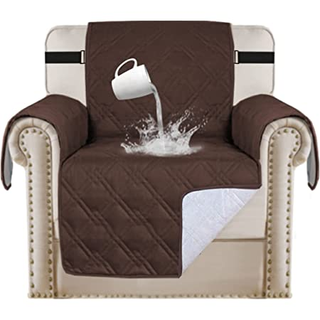 Blesiya Non-slip Sofa Cover Chair Couch Recliner Slipcover Pet Dog Cat Protector