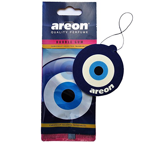 AREON Ambientador Coche Aire Bubble Gum Blue Eye Chicle