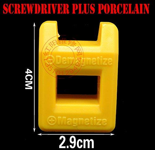 magnetiseren voor schroevendraaier schroevendraaier plus porselein degaussing degaussing minus porselein demonteren laadplaat