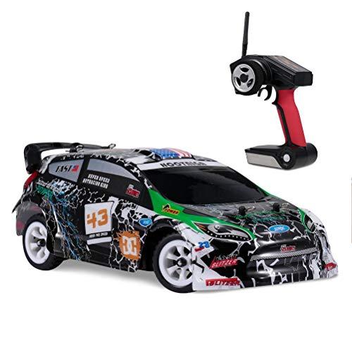 Yousir K989 RC Car Mini - Coche de carreras eléctrico teledirigido para adultos y niños, Drift Kart RC Drift Car Sport Racing Drift Car 4WD RC Vehículo para Grass Beach