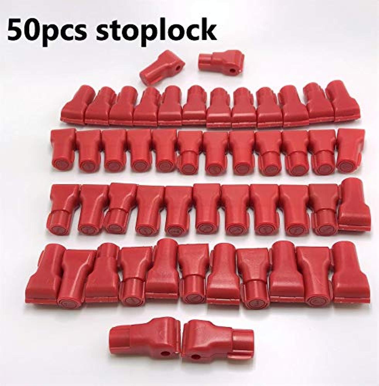 Best Quality   50pcs lot EAS AntiTheft Stop Lock for Display Security Hook Euroslot Hook Stop Lock  (color  4mm Inner Diameter)